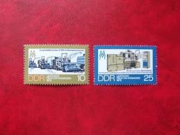 ALEMANIA DEMOCRATICA 1973, MICHEL 1832-33,   **MNH** - [6] République Démocratique