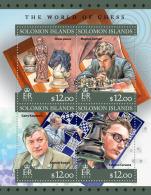 SOLOMON Isl. 2016 - Chess: M. Carlsen, G. Kasparov, A. Karpov, F. Caruana - Schaken