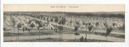 Double Cp , Carte Panoramique , Caserne , Militaria ,CAMP DE MAILLY , Vue Générale , 2 Scans , Voyagée 1911 - Barracks