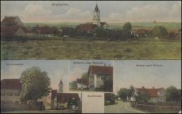 Ansichtskarte Wallkofen Mit 4 Abbildungen, SÜNCHING 10.5.1913 - Deutschland