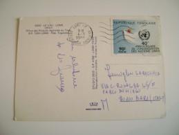 REPUBLIQUE TOGOLAISE  TOGO  LOME   AFRIQUE   AFRICA  POSTCARD USED - Togo