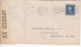 USA, Nr 171 Op Brief Met Censuur (07682)