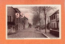 CPA * * St-SATURNIN-de-LENNE * * Avenue De La Gare - Sonstige Gemeinden
