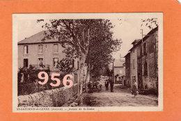 CPA * * St-SATURNIN-de-LENNE * * Avenue De St-Geniez - Sonstige Gemeinden