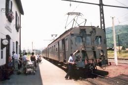 Saint Jean Pied De Port (64 - France)  14 Juillet 1978 Automotrice Z4412 En Gare. - Saint Jean Pied De Port