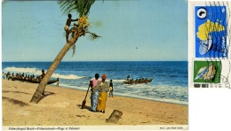 KENYA  KENIA  Palm-Fringed Beach  Palmeanstrand Nice Stamps - Kenia