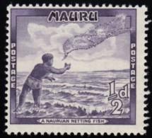 NAURU - Scott #39 Casting Throw-net  / Mint NH Stamp - Nauru