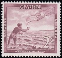 NAURU - Scott #59 Casting Throw-net  / Mint NH Stamp - Nauru