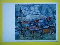 8182 A.Lentulov. Landscape With Goats - Paintings