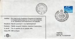 "Nederland - 10/14-9- 1979 - ""Confédération Européene De L'Agriculture"" - Z 37 - Marcofilie - EMA (Print Machine)"