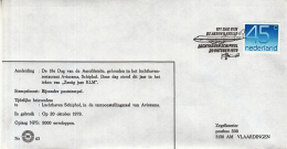 Nederland - 20-10- 1979 - 18e Dag Van De Aerofilatelie - Luchthaven Schiphol - Z 43 - Marcofilie - EMA (Print Machine)