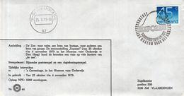 Nederland - 25-10- 1979 - Museum Voor Het Onderwijs - Expozee - Z 44 - Marcofilie - EMA (Print Machine)