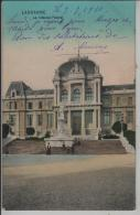 Lausanne - La Tribunal Federal - Animee Belebt - Rasierklingen-Stempel - Photo: Perrochet & David - VD Vaud