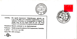 Nederland - 6/9 Mei 1980 - Internationaal Veiligheidscongres - Voorkoming Van Beroepsongelukken En -ziekten - Z 69 - Marcofilie - EMA (Print Machine)
