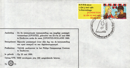 Nederland - 23 Mei 1980 - 6e Internationale Jeugdpostzegeltentoonstelling JUPOSTEX - Z 71 - Marcofilie - EMA (Print Machine)