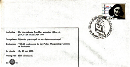 Nederland - 25 Mei 1980 - Internationale Jeugddag JUPOSTEX HOLLAND - Z 73 - Marcofilie - EMA (Print Machine)