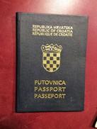 PASSAPORTO  REISSEPASS  PASSPORT  CROATIA - Historische Dokumente