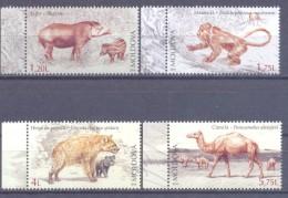 2016. Moldova, Dissapear Animals,  4v,  Mint/** - Moldavie