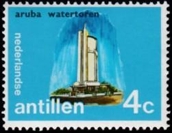 NETHERLANDS ANTILLLES - Scott #334 Water Tower, Aruba / Mint NH Stamp - Curaçao, Antilles Neérlandaises, Aruba