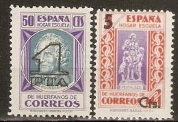ESPAÑA BENEFICENCIA EDIFIL  27/8** SIN FIJASELLOS - Wohlfahrtsmarken
