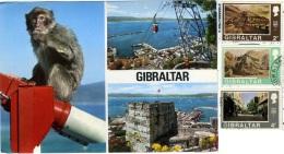 GIBRALTAR  GIBILTERRA  Pillars Of Hercules  Multiview  Nice Stamps - Gibilterra