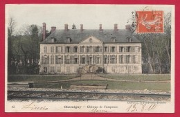 CPA Chamigny - Château De Tanqueux - Frankrijk