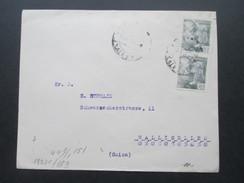 Spanien - Schweiz 1945 ?! Zensur Der Wehrmacht. Zensurbeleg. Geöffnet / Geprüft. Valencia Del Cid - 1931-50 Briefe U. Dokumente