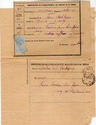 TB 2122 - LAC - Lettre De L'Enregistrement Des Domaines & Du Timbres OB Des Imprimés De PARIS & MELUN Pour NANDY - Marcophilie (Lettres)
