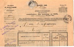 TB 2123 - LAC - TB Type Blanc Sur Lettre De La Perception De MELUN Pour NANDY Via CESSON - Marcophilie (Lettres)