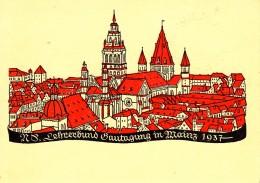 Propagandakaart 1941, Wiesbaden, Waffenstillstandskommission (07716) - Duitsland
