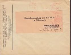 Deutsches Reich UNION SOZIALISTISCHER SOWJET-REPUBLIKEN Handelsvertretung HAMBURG 1933 Meter Cover Freistempel Brief - Deutschland