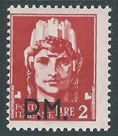 1942 REGNO POSTA MILITARE 2 LIRE MH * - CZ36-2 - 1900-44 Vittorio Emanuele III