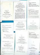 Bidprentjes  Berchem   13  Stuks - Devotion Images
