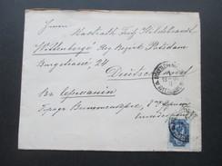 Russland 1900 Beleg Nach Wittenberg Bezirk Potsdam. Interessanter Beleg?! - 1857-1916 Imperium