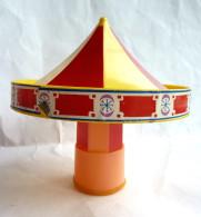 RARE FIGURINE ORTF CORGI Manège Enchanté 2 PIECES DE MANEGE Pour Compléter Un Manège - 1960's MAGIC ROUNDABOUT - Figurines