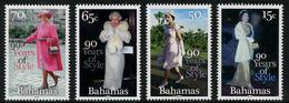 BAHAMAS  2016 - 90 Years Of Style, 90e Ann Elisabeth II - 4val Neufs // Mnh - Bahamas (1973-...)