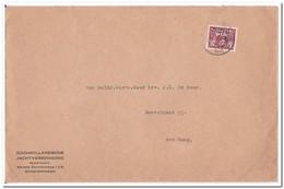 Enveloppe 1941, Zuid-Hollandsche Jachtvereeniging Scheveningen - Periode 1891-1948 (Wilhelmina)