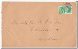 Enveloppe 1942, Afstempeling Voorburg - Periode 1891-1948 (Wilhelmina)