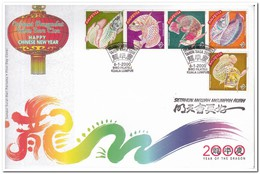 Maleisië 2000, New Year, Fish - Maleisië (1964-...)