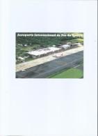 BRAZIL - AIRPORT  - TAM AIRPLANE - FOZ DO IGUAÇU - PARANA - FALLS - POSTCARD - Curitiba