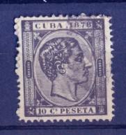 Cuba 1878 - 10 C Black - Kuba (1874-1898)