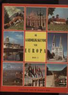 Belgie Bon Tintin Kuifje's Bon Aardrijkskunde Van Europa Deel I + Chromo's Compleet 1957 Editions Lombard - Lombard Collectie