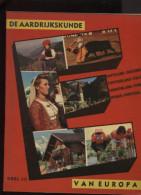 Belgie Bon Tintin Kuifje´s Bon Aardrijkskunde Van Europa Deel III + Chromo´s Compleet 1959 Editions LOMBARD - Lombard Collectie