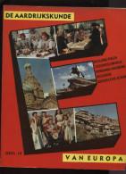 Belgie Bon Tintin Kuifje's Bon Aardrijkskunde Van Europa Deel IV + Chromo's Compleet 1960 Editions LOMBARD - Lombard Collectie