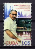 Cuba 2016 / Radio MNH Radioaficionados Amateur-radio / Cu1328  31 - Ungebraucht
