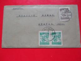 Envelope,Letter,Covers-Maribor To Stapar,Yugoslavia 1946. /Bataljon Za Vezu 4.J.A.- V.P.175.A.O. - 1945-1992 Repubblica Socialista Federale Di Jugoslavia