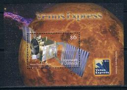 Bloc Sheet Espace Space Neuf ** MNH Dominique Dominica 2006