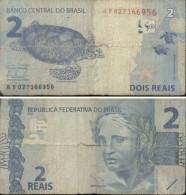BRASIL - BILLETE DE 2 REAIS  (956) - Brazil
