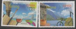 SPAIN, 2016, MNH, TOURISM, BICYCLES, MOUNTAINS, WINE, BOATS, YACHTS, HIKING, BOOKS,2v - Other