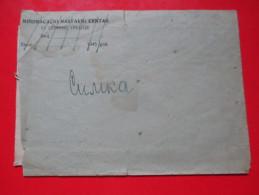 T10-Military Covers,Envelope,Yugoslavia Army-Inscription Canceled:Mortar Teaching Center,51 Impact Division+Letter - 1945-1992 République Fédérative Populaire De Yougoslavie